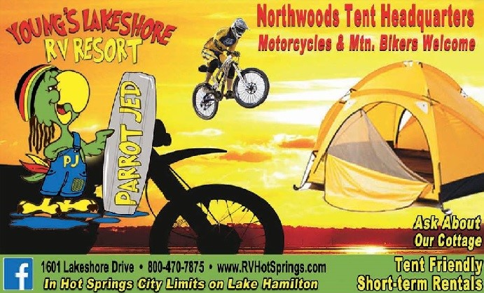 Young S Lakeshore Rv Resort Camping Sites In Hot Springs